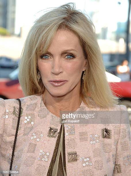 Donna Mills during Wicked Los Angeles Opening Night Arrivals at Pantages Theatre in Hollywood California United States