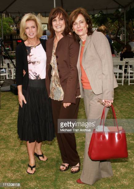 Donna Mills Linda Gray and Jane Kaczmarek during The Screen Actors Guild Presents Premiere Literary Event at The Grove in Los Angeles California...