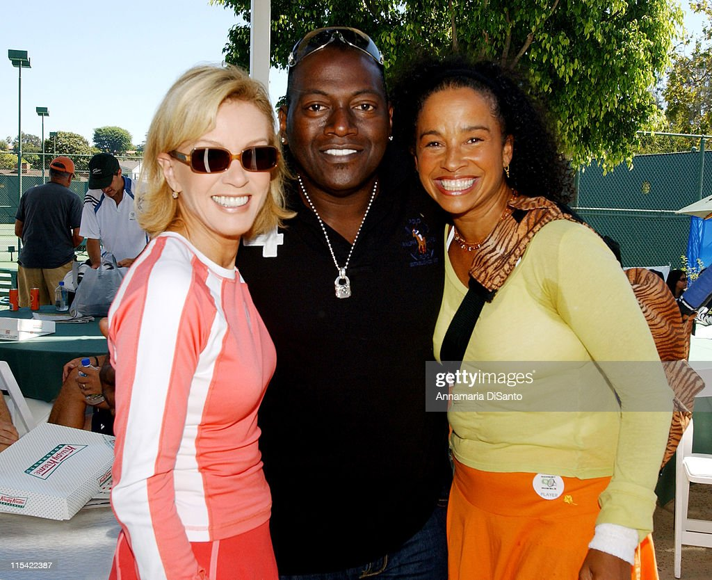 TJ Martell / Neil Bogart Foundation 2006 Racquet Rumble Tennis Tournament : News Photo