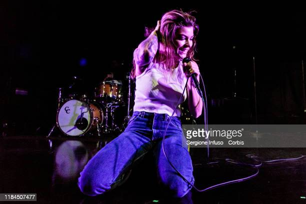 Donna Missal opens for Lewis Capaldi at Fabrique Club on October 30 2019 in Milan Italy