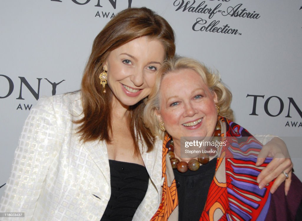 Donna Murphy and Barbara Cook during 60th Annual Tony Awards - Cocktail Celebration at The Waldorf Astoria in New York City, New York, United States.