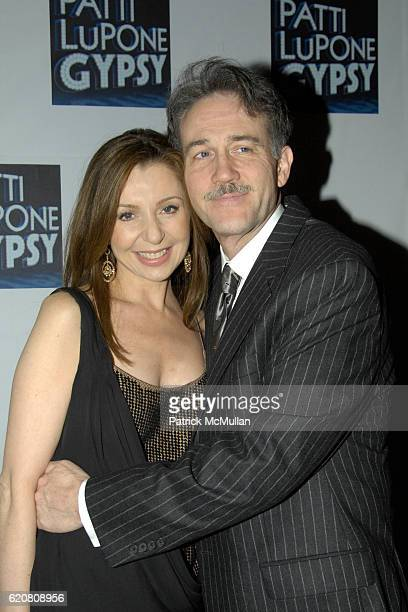 Donna Murphy and Boyd Gaines attend The Opening Night of GYPSY on Broadway at The St. James Theatre & Mansion Night Club on March 27, 2008 in New...