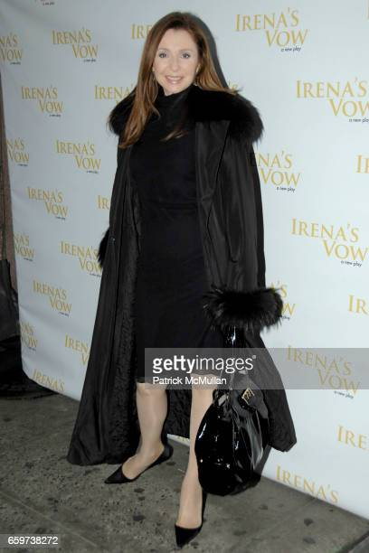 Donna Murphy attends IRENA'S VOW Opening Night On Broadway Arrivals and After Party at Walter Kerr Theatre and TAO 42 E. 58th St. On March 29, 2009...
