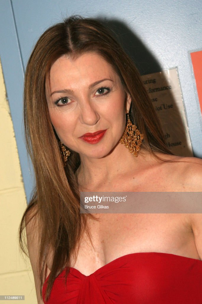 Donna Murphy during The All-Star Stephen Sondheim 75th Birthday Celebration 'Children and Art' - Inside at Broadway's New Amsterdam Theatre in New York City, New York, United States.