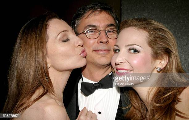 Donna Murphy, Rob Fisher and Jennifer Westfeldt during Opening Night of Wonderful Town on Broadway and After-Party at The Al Hirshfeld Theater and...