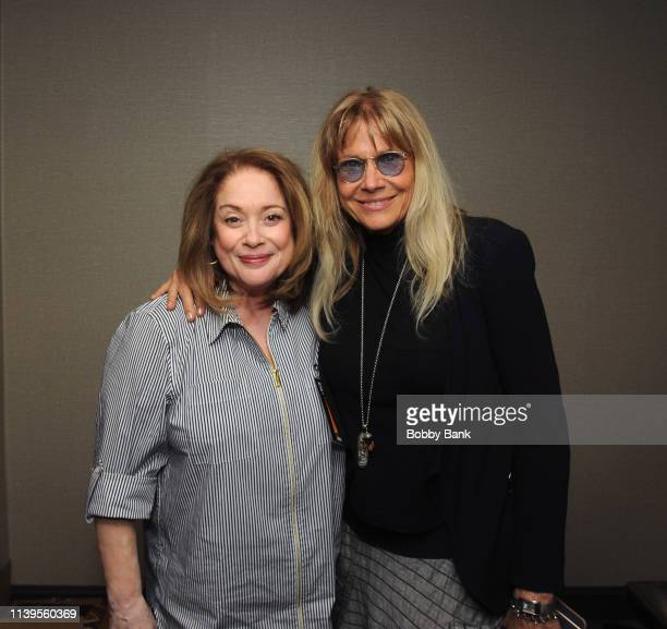Donna Pescow and Cindy Pickett attend the Chiller Theatre Expo Spring 2019 at Parsippany Hilton on April 26 2019 in Parsippany New Jersey
