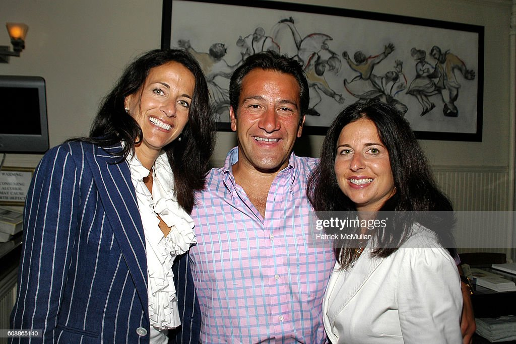 Donna Poyiadjis, Roys Poyiadjis and Caroline Staehle attend Screening of Universal Pictures THE KINGDOM, Dinner Hosted By JEFF & CARYN ZUCKER at Savanna's on August 5, 2007 in Southampton, NY.