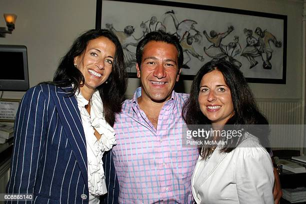 Donna Poyiadjis Roys Poyiadjis and Caroline Staehle attend Screening of Universal Pictures THE KINGDOM Dinner Hosted By JEFF CARYN ZUCKER at...