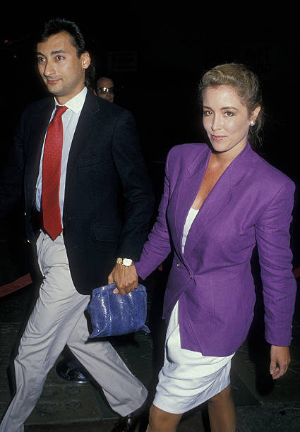 Donna Rice Jack Hughes Amp Wife 2 Pictures Getty Images