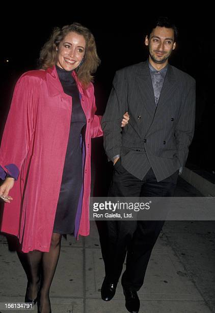 Donna Rice and date James Grant attend the premiere party for '1969' on October 27 1988 at the Park Plaza Hotel in Los Angeles California
