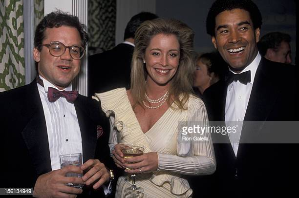 Donna Rice and date Mike Kelly attend White House Correspondents Dinner on April 21 1988 at the Capitol Hilton Hotel in Washington DC