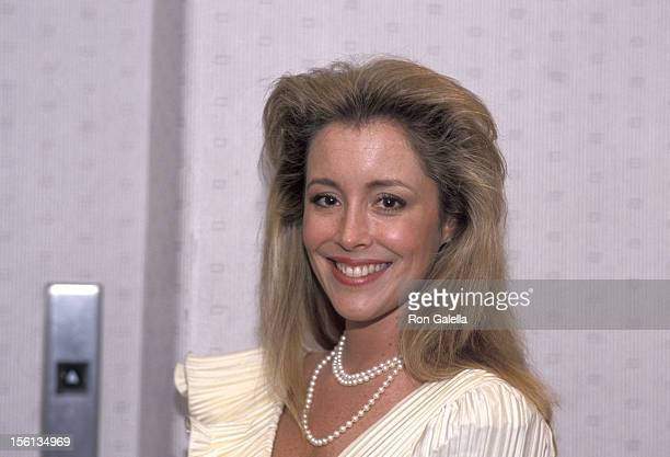 Donna Rice attends White House Correspondents Dinner on April 21 1988 at the Capitol Hilton Hotel in Washington DC