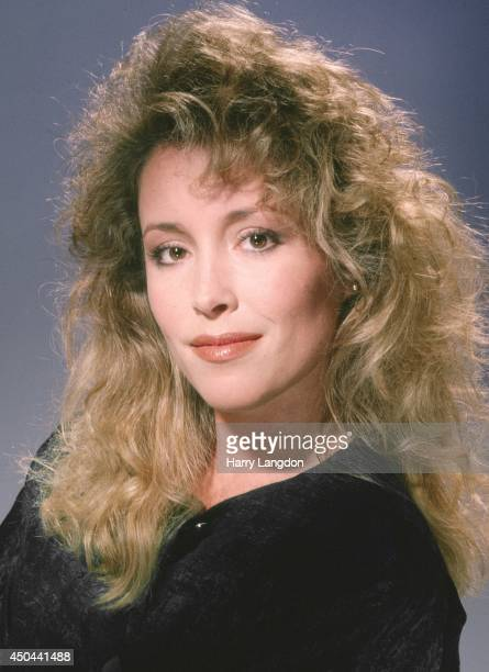 Donna Rice poses for a portrait in 1987 in Los Angeles California
