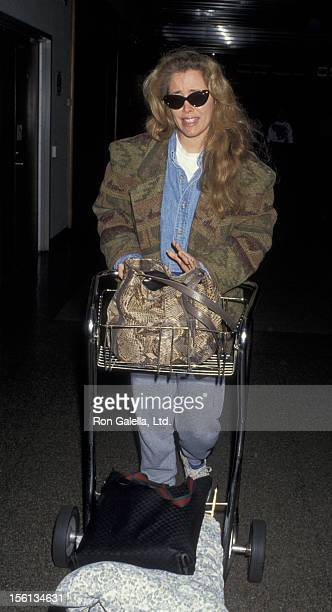 Donna Rice sighted on March 24 1993 at Los Angeles International Airport in Los Angeles California