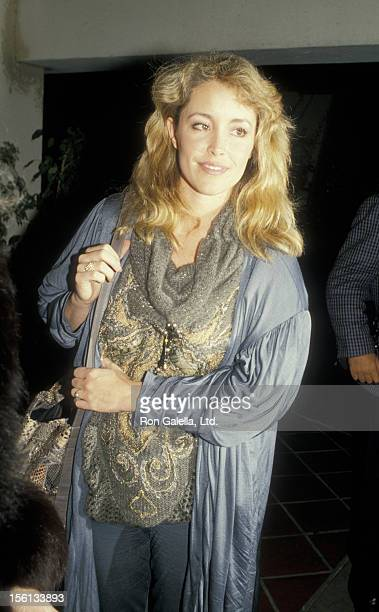 Donna Rice sighted on November 20 1987 at Jimmy's Restaurant in Beverly Hills California