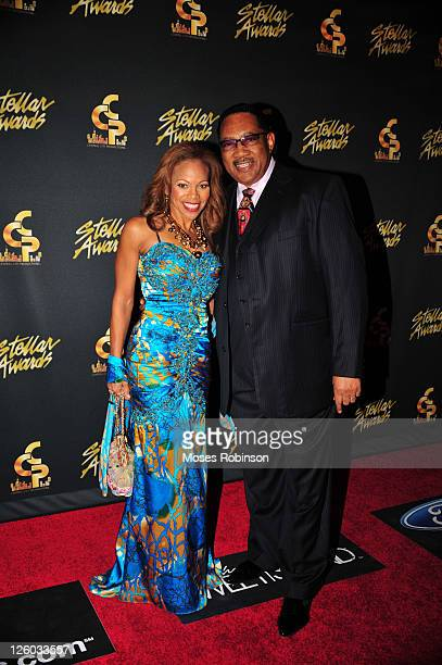 Donna Richardson and Dr Bobby Jones attend the 26th Annual Stellar Gospel Music Awards at The Grand Ole Opry on January 15 2011 in Nashville Tennessee
