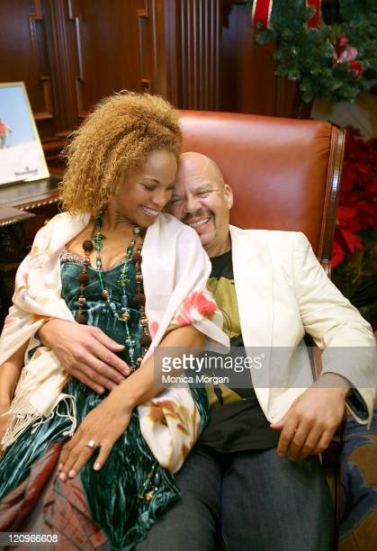 Donna Richardson Joyner and her husband Tom Joyner