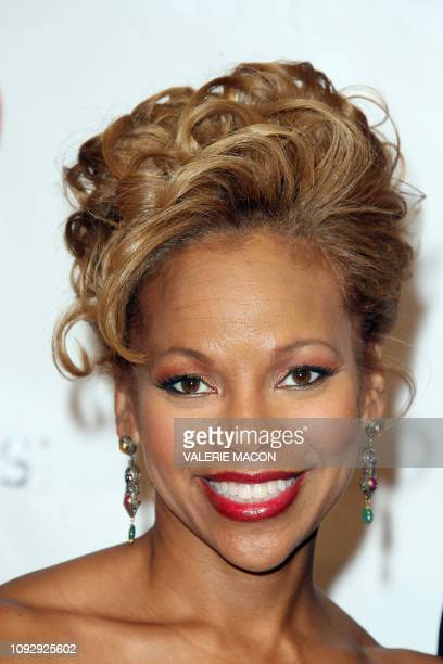 Donna Richardson Joyner arrives at the 2008 MusiCares Person of the Year Dinner February 08 2008 at the Los Angeles Convention Center Los Angeles...