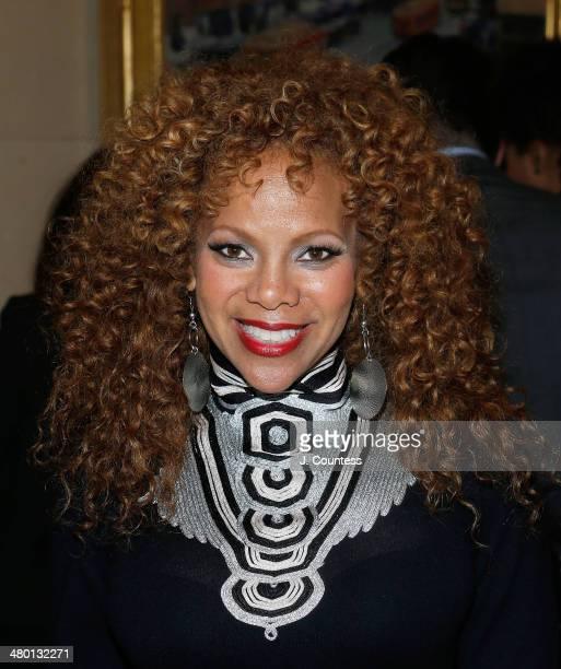 Donna Richardson Joyner attends Aretha Franklin's 72nd Birthday Celebration at the Ritz Carlton on March 22 2014 in New York City