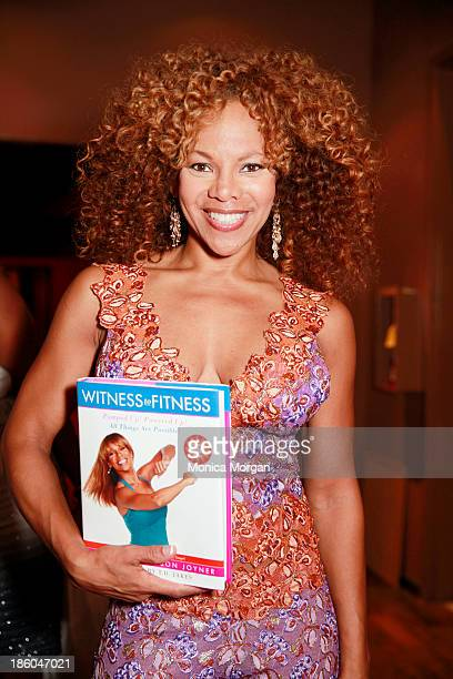 Donna RichardsonJoyner attends the O'Jays 8th Annual Celebrity Scholarship Weekend Masquerade Ball at TW Theater on October 25 2013 in Las Vegas...