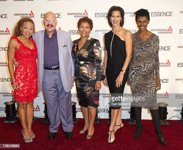 Donna RichardsonJoyner Tom Joyner Dr Regina Benjamin Fredricka Whitfield and Constance CR White pose on the red carpet for the 3rd annual Evening of...