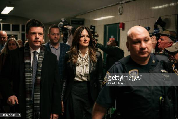 Donna Rotunno lead defense attorney for Harvey Weinstein leaves New York City Criminal Court following the conclusion of Weinstein's trial on...