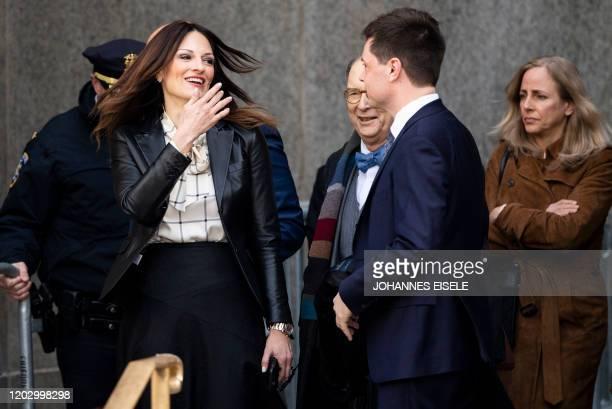 Donna Rotunno lead defense attorney for Harvey Weinstein leaves the Manhattan Criminal Court on February 24 2020 in New York City Harvey Weinstein...
