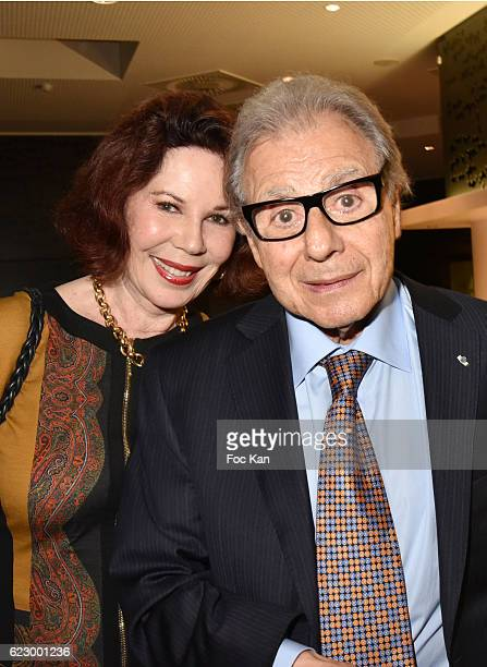Donna Schifrin and composer Lalo Schifrin attend the Tribute to Lalo Schifrin Concert at Palais des Congres as part of Cinema Et Musique De Film 2016...