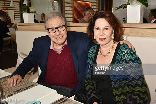 Donna Schifrin and her husband composer Lalo Schifrinattend the Tribute to Lalo Schifrin Concert at Palais des Congres as part of Cinema Et Musique...