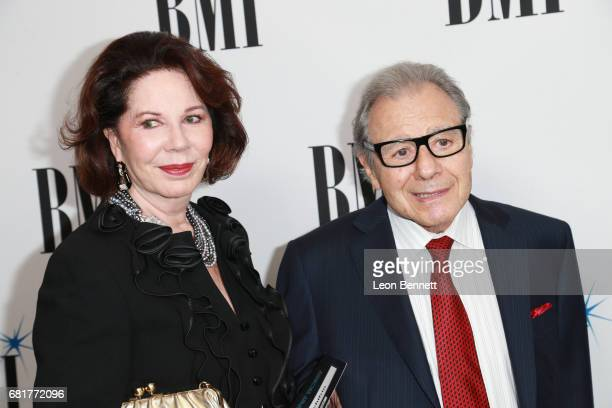 Donna Schifrin and Lalo Schifrin arrives to the 2017 BMI Film TV And Visual Media Awards at the Beverly Wilshire Four Seasons Hotel on May 10 2017 in...