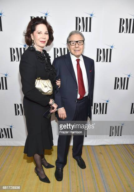 Donna Schifrin and Lalo Schifrin at the 2017 Broadcast Music Inc Film TV Visual Media Awards at the Beverly Wilshire Hotel on May 10 2017 in Beverly...