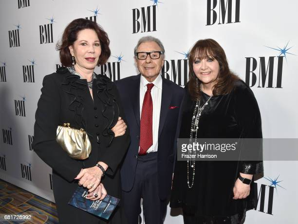 Donna Schifrin composer Lalo Schifrin and BMI VP Film TV Visual Media Relations Doreen RingerRoss at the 2017 Broadcast Music Inc Film TV Visual...