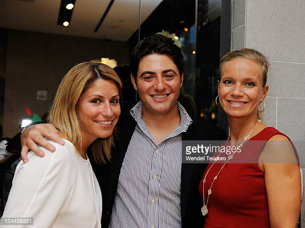 Donna Simonelli Andrew Black and Alice Bennahmias attend the OC Concept Store during Fashion's Night Out on September 8 2011 in New York City