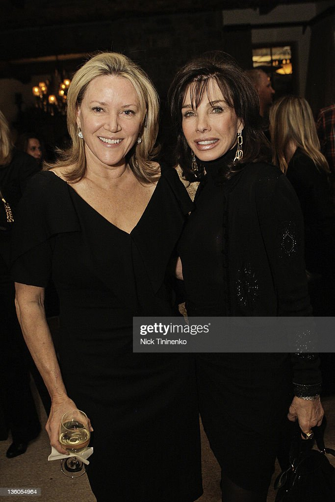 Donna Slade And Donna Livingston Attend Audi And Piaget Celebrate The  Holidays On December 19 2011