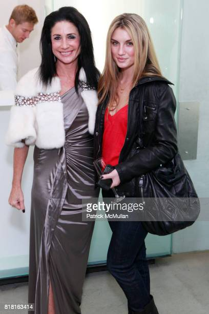 Donna Soloway and Andrea Tiede attend GEOFFREY BRADFIELD'S 'THE QUICK AND THE DEAD' Opening at Sebastian Barquet Gallery on November 1st 2010 in New...