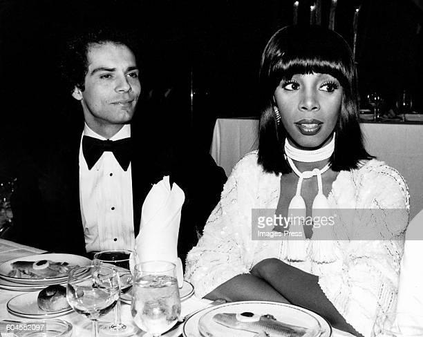 Donna Summer and husband Bruce Sudano circa 1980 in New York City