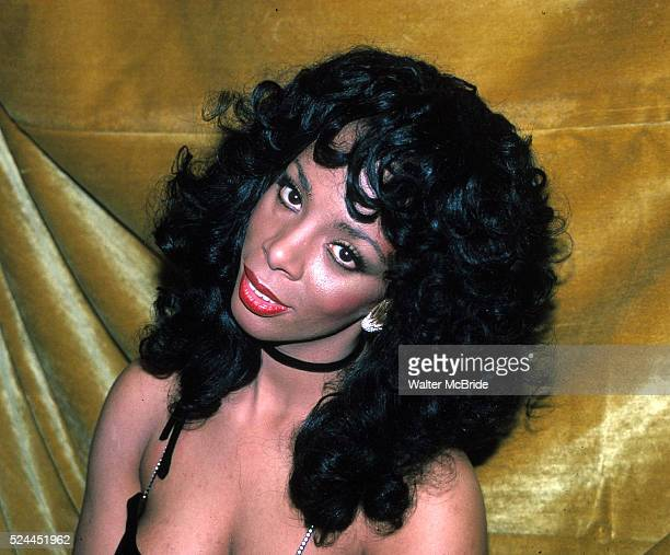 Donna Summer at the Savoy Theater in New York City January 1983