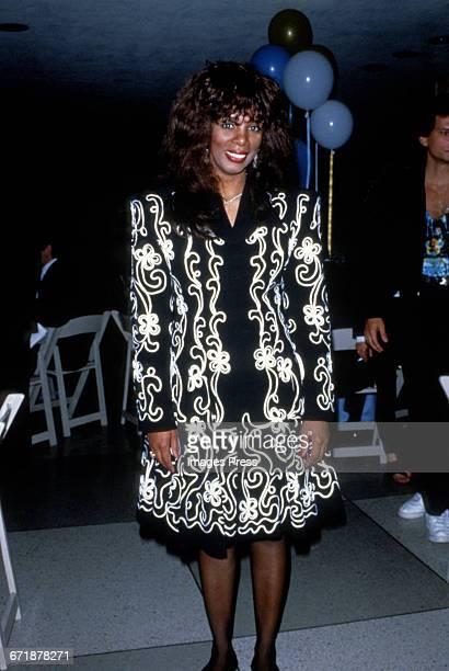 Donna Summer circa 1988 in New York City
