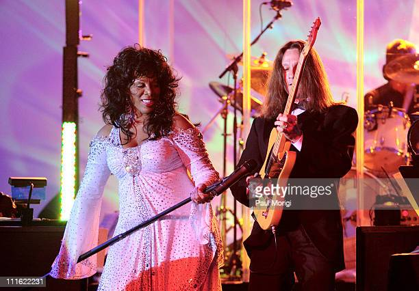 Donna Summer during An Evening with Larry King and Friends at The Ritz Carlton in Washington DC United States