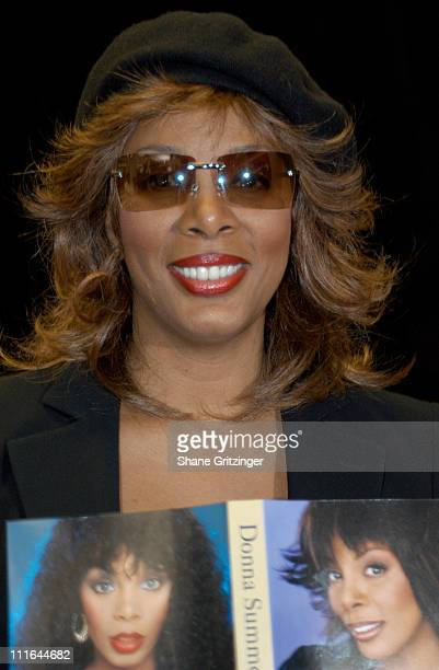 """Donna Summer during Donna Summer Signs Copies of Her New Book """"Ordinary Girl"""" and New CD """"The Journey"""" at Barnes and Noble in New York City, New..."""