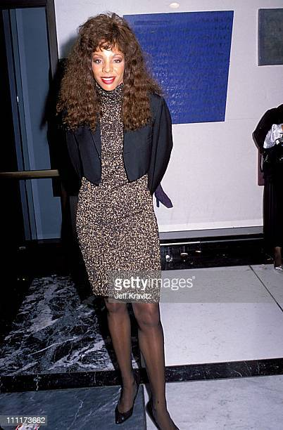 Donna Summer during TJ Martell Music and Sports Event 1989 in Los Angeles California United States