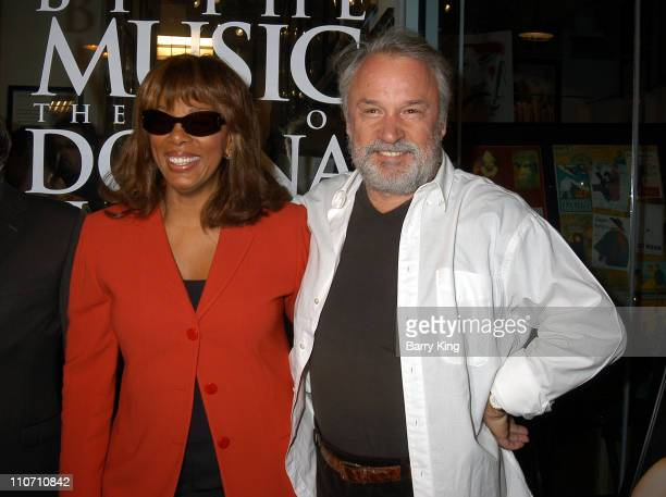 Donna Summer Giorgio Moroder during Driven By The Music The Art Of Donna Summer Opening at The Grove in Los Angeles California United States