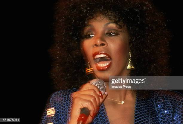 Donna Summer in concert circa 1978 in New York City