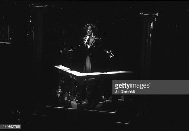 Donna Summer performs at the Orpheum Theatre in Minneapolis Minnesota on August 11 1995