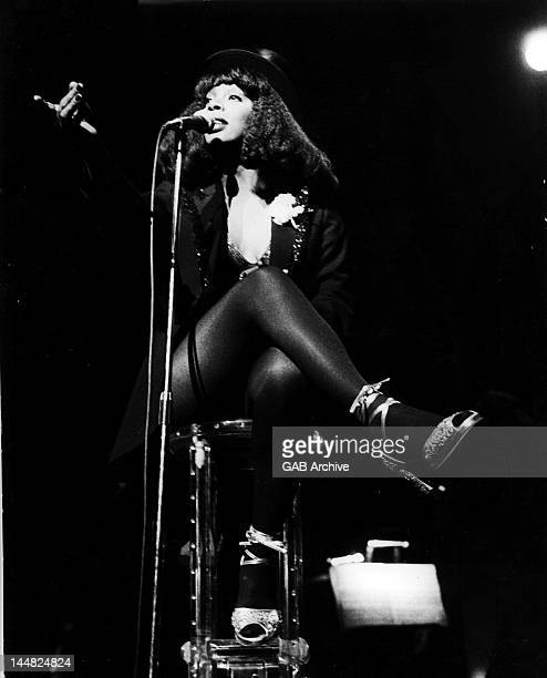 Donna Summer performs on stage USA 1977