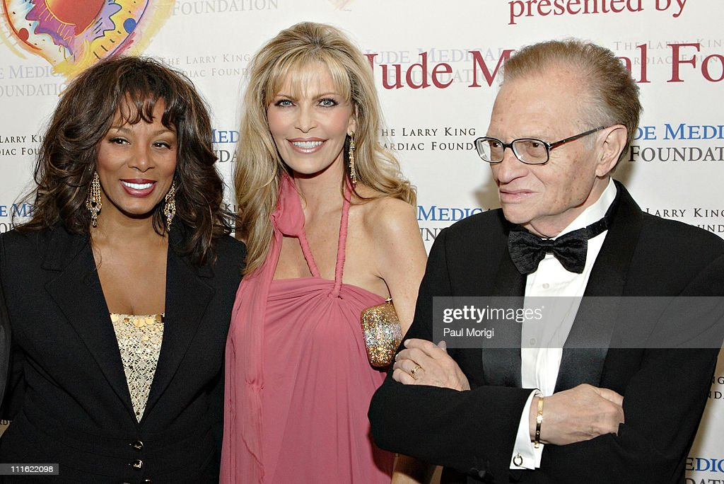 Donna Summer, Shawn Southwick-King and Larry King during An Evening with Larry King and Friends at The Ritz Carlton in Washington, DC, United States.