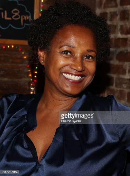 Donna Torrence attends The Pink Panther Clique book release party hosted by Yandy Smith at Manhattan Brew Vine on October 3 2017 in New York City