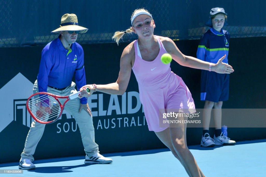 TENNIS-AUS-WTA : Fotografía de noticias