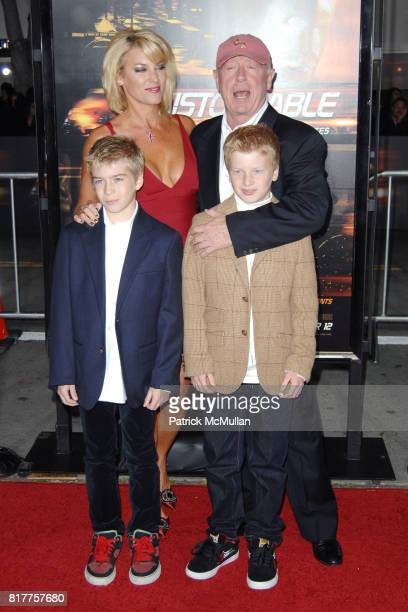Donna W Scott Tony Scott and attend UNSTOPPABLE World Premiere at Regency Village Theatre on October 26 2010 in Westwood California