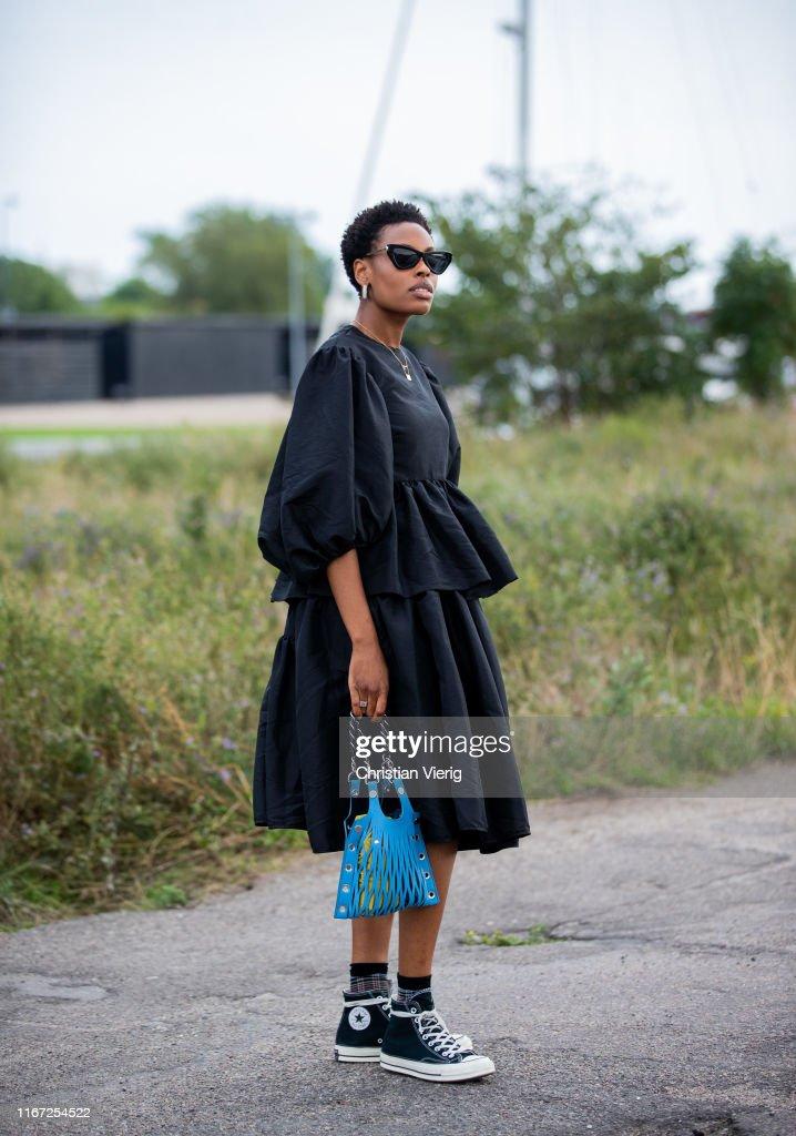 Street Style - Day 2 - Copenhagen Fashion Week Spring/Summer 2020 : Photo d'actualité
